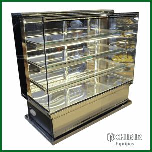 Vitrinas para panader a exhibir equipos bogot for Muebles para cafeteria precios