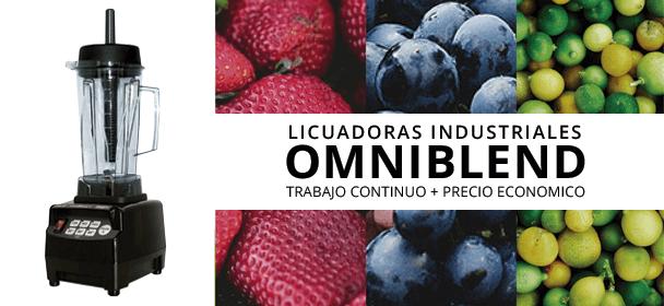 TM800 Omniblend licuadora para uso industrial