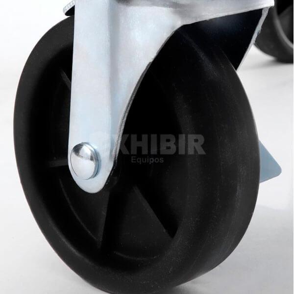 Base chef con ruedas