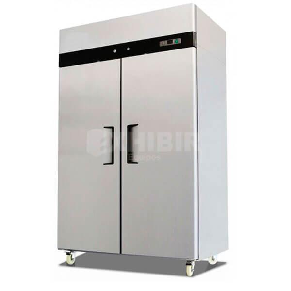 nevera o congelador vertical de dos puertas
