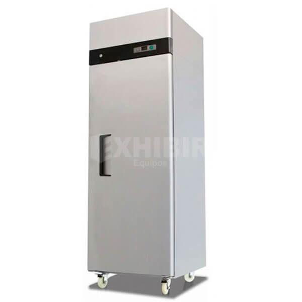 Nevera congelador vertical una puerta