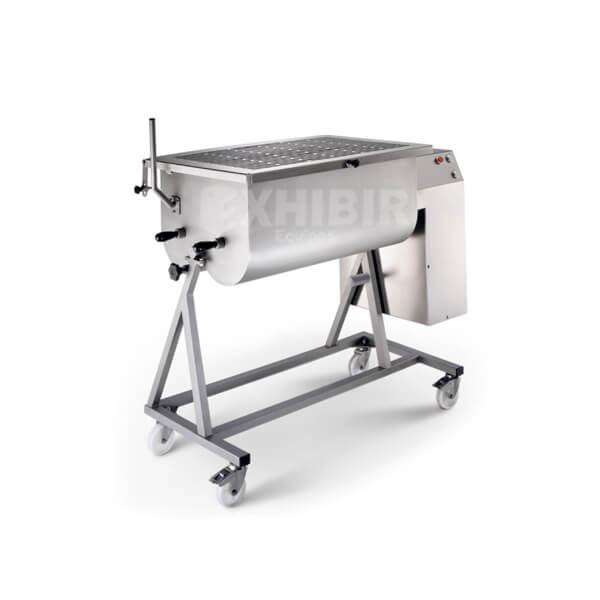 Mezcladora de carne para hamburguesa