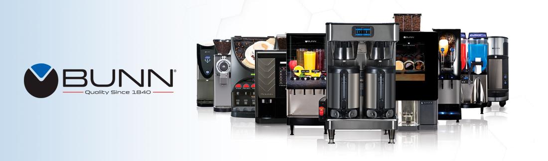 bunn colombia cafeteras, molinos de cafe y granizadoras